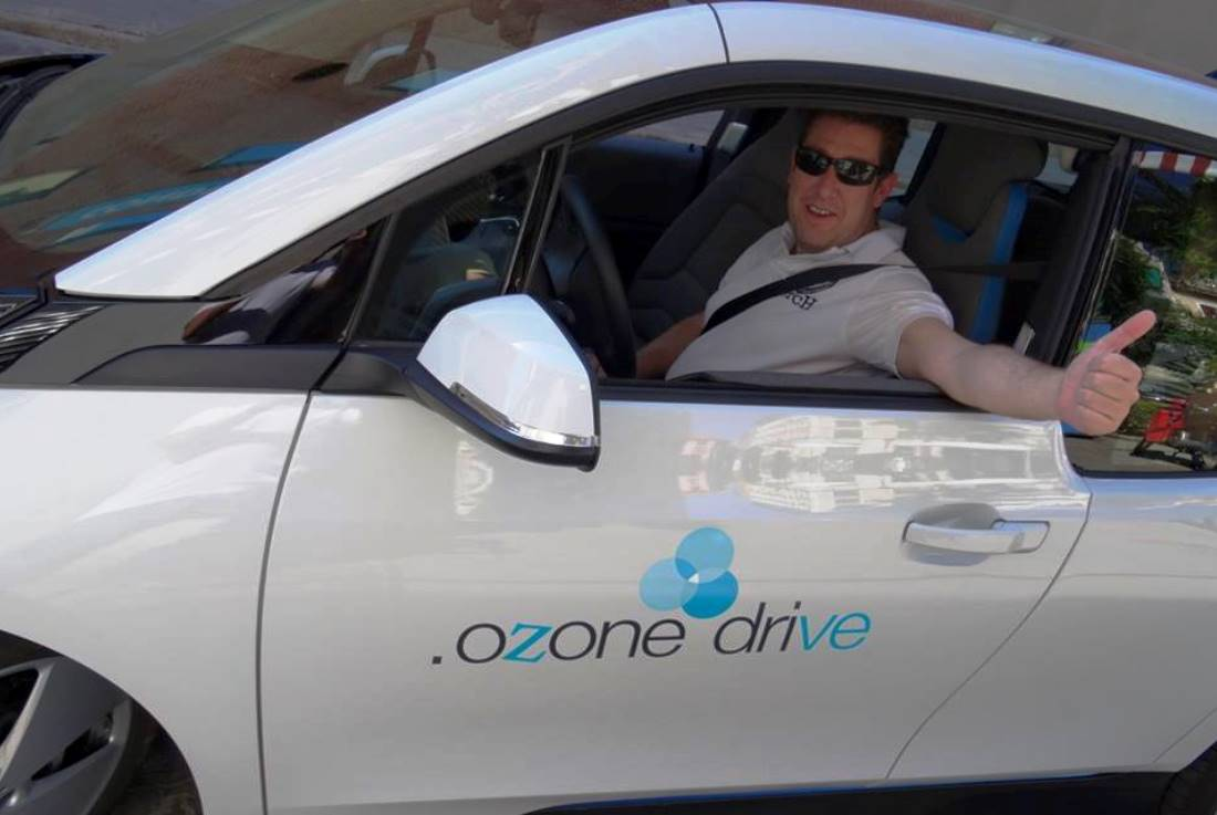 Ozone Drive - Evento Conde Duque Madrid